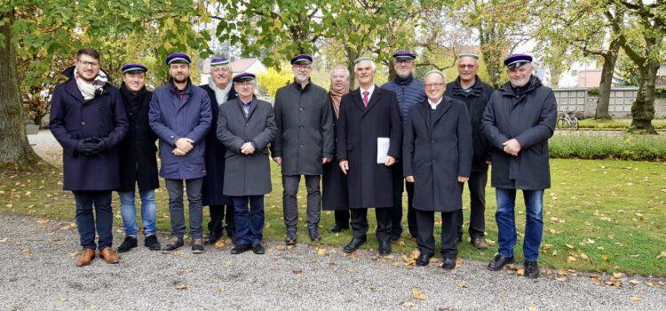 Allerheiligen – Kranzniederlegung am Westfriedhof am 01.11.2019
