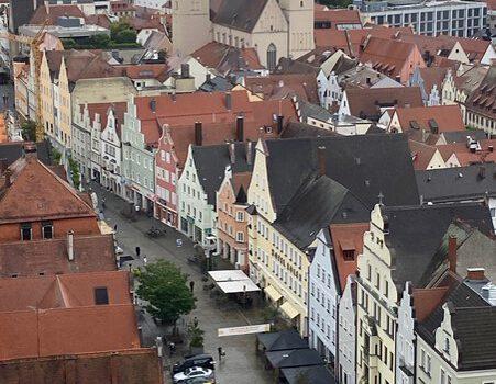 Besichtigung des Dachstuhls des Ingolstädter Münsters